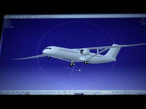 """SUGAR Volt: Boeing's Hybrid Electric Aircraft - The Future of air transportation. Fun """"visionary"""" concept plane from Boeing."""
