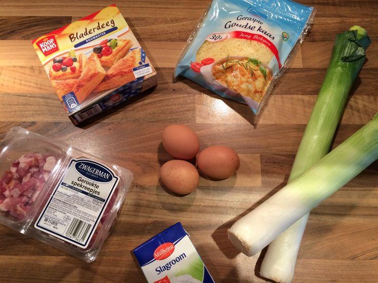Toevoegen aan mijn receptenDeze quiche met spekjes en prei is vol van smaak met een heerlijk krokante bodem en rand. Het gerecht ziet er misschien wat ingewikkeld uit, maar dat is het helemaal niet! In maar 15 minuten is de quiche al klaar om in de oven te schuiven. Dan nog maar een wachttijd van …