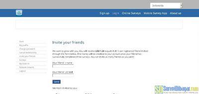Mengundang teman bergabung dengan Mobrog | SurveiDibayar.com