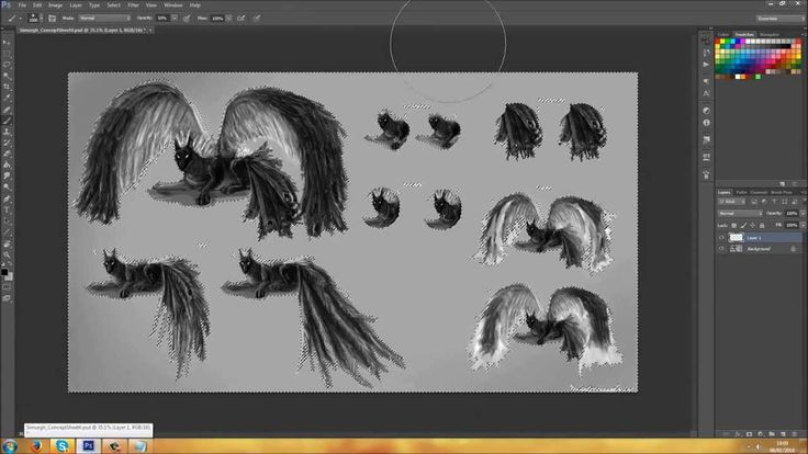 Simurgh: From Concept To Final design Time Lapse (+playlist)