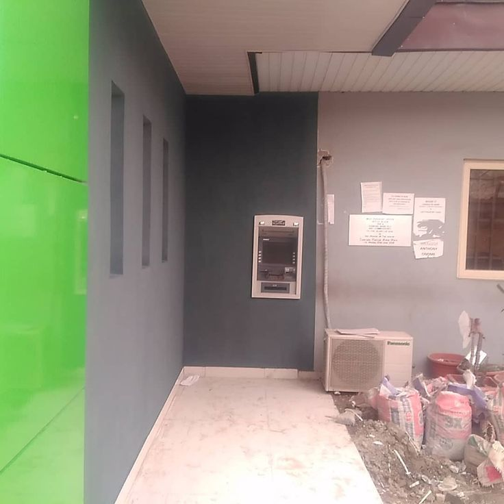 Completed section of the ATM at the waiting area section of Heritage bank at IKOYI passport office. #construction #constructionwork #constructionworker  #heritagebank #unionbank #gtbank #wemabank #fidelitybank #UBA #firstbank #nigerianimmigrationservice