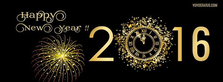 happy new year 2016 facebook cover