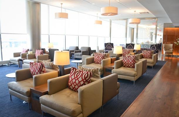 British Airways Galleries Lounge at Newark International Airport