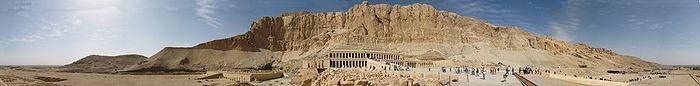 Deir el-Bahari, Hatschepsut-Tempel
