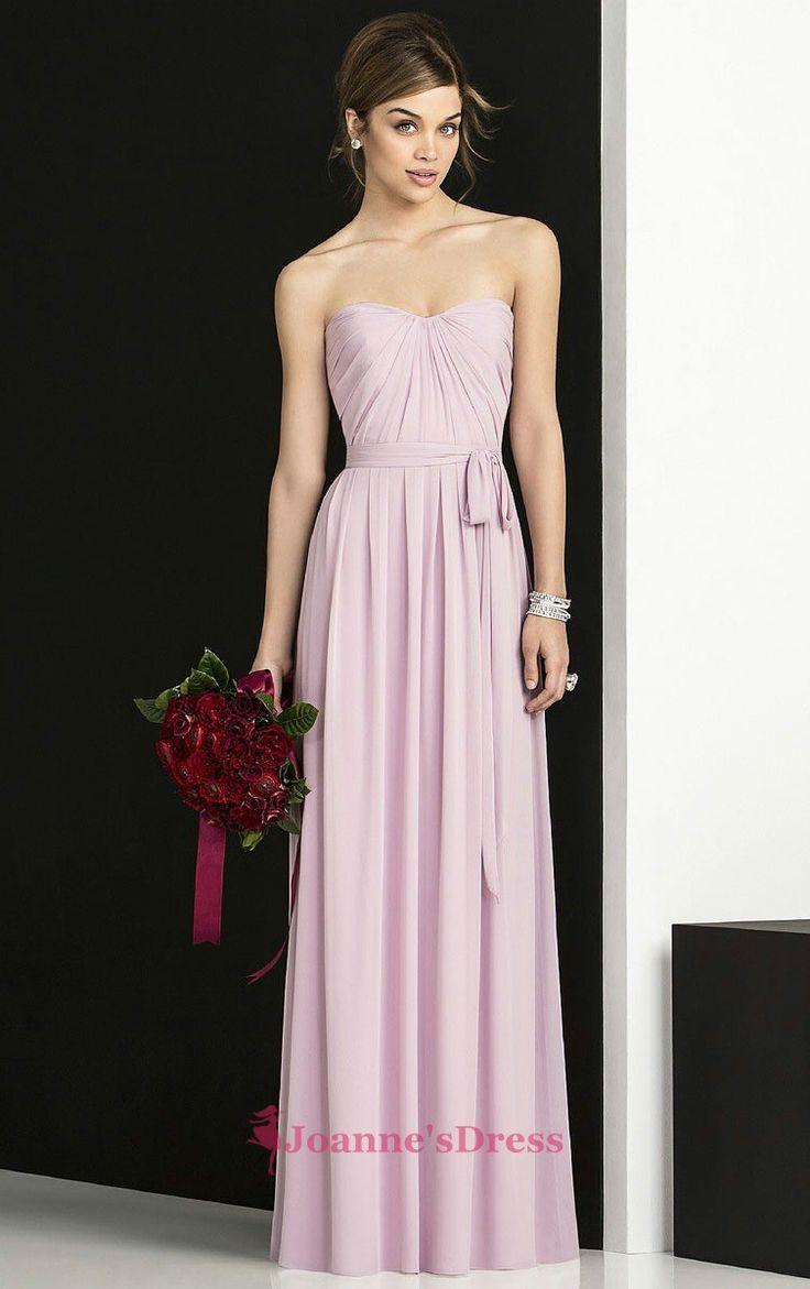 25 best Pink Bridesmaid Dresses images on Pinterest | Pink ...