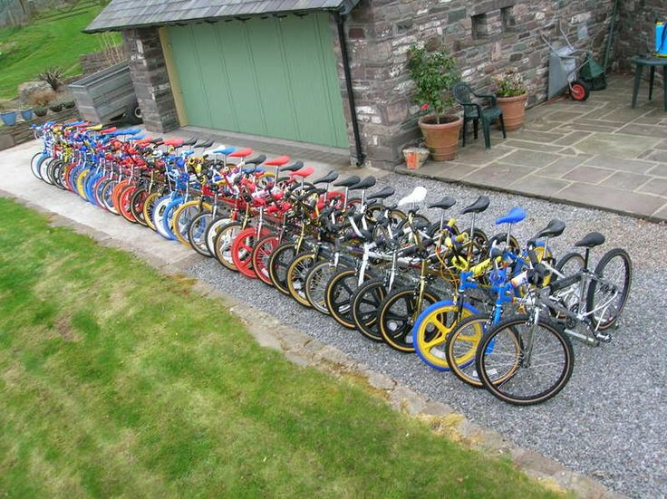 Awesome Raleigh Burner Collection by Julian Taff