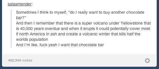 Flawless chocolate logic: