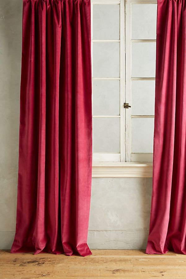 Matte Velvet Curtain Velvet Curtains Elegant Curtains Luxury Curtains