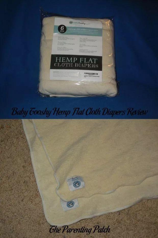 Baby Tooshy Hemp Flat Cloth Diapers Review