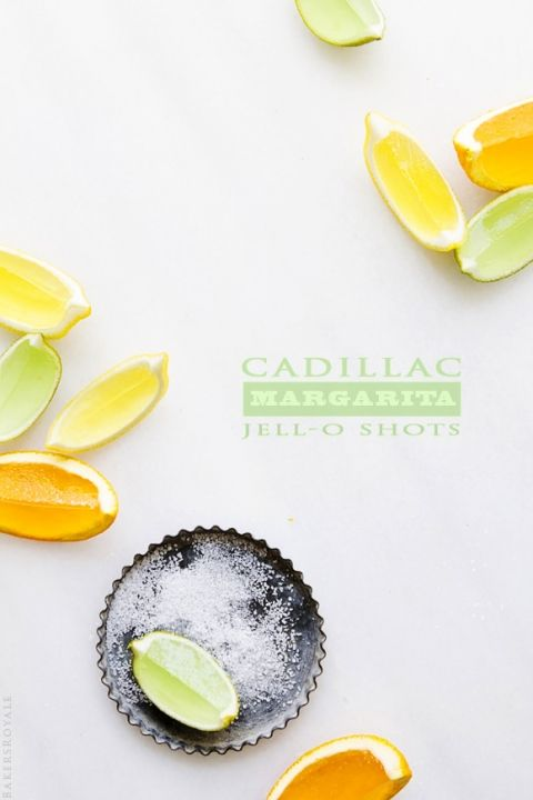 Cadillac Margarita Jello Shots   Bakers Royale