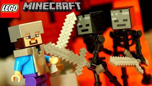 Посмотреть видео «Все Серии - Лего Майнкрафт и Мультики Лего - на русском языке. Lego Minecraft Animation», загруженное New Day на Dailymotion.