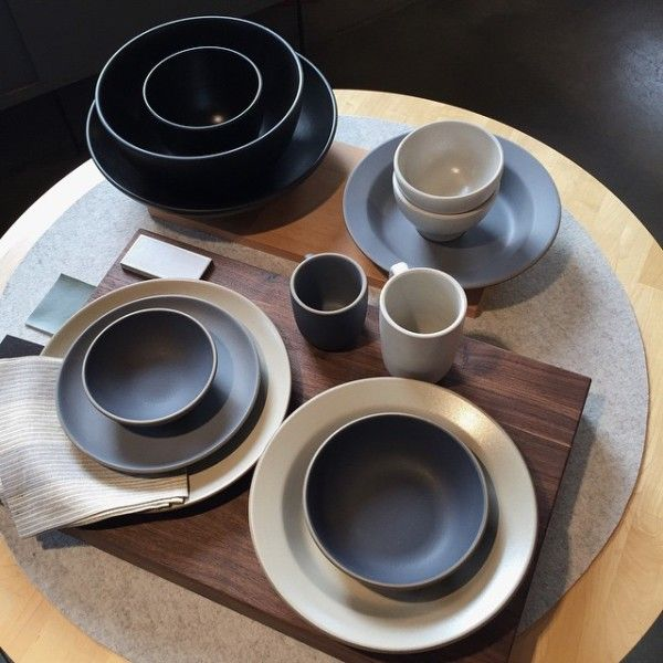 For The Minimalist - A longtime favorite of some of L.A.'s premiere event planners for their wonderfully understated elegance, Heath Ceramics' stunning minimalistic dinnerware is created in small batches by artisans in San Francisco. Go with a neutral color and the set of dishes will go with everything you already own.