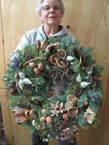 wakacyjnych wreath5 z klasy wieniec grudnia 2012 Weeks Françoise