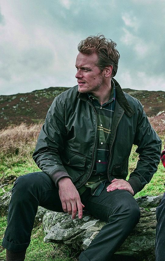 Sam Heughan for Barbour.  (X)