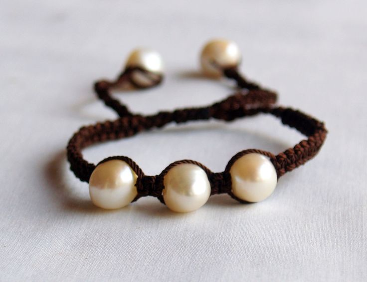 Freshwater Pearl Bracelet, check it out at www.facebook.com/BazaarArtisani