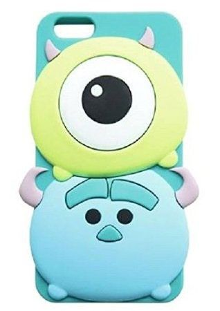 3D Cute Cartoon Soft Silicone Skin Case Cover for iPhone5/5S /6 (4.7 inch) | Creative Iphone Cases | Accessories- ByGoods.Com