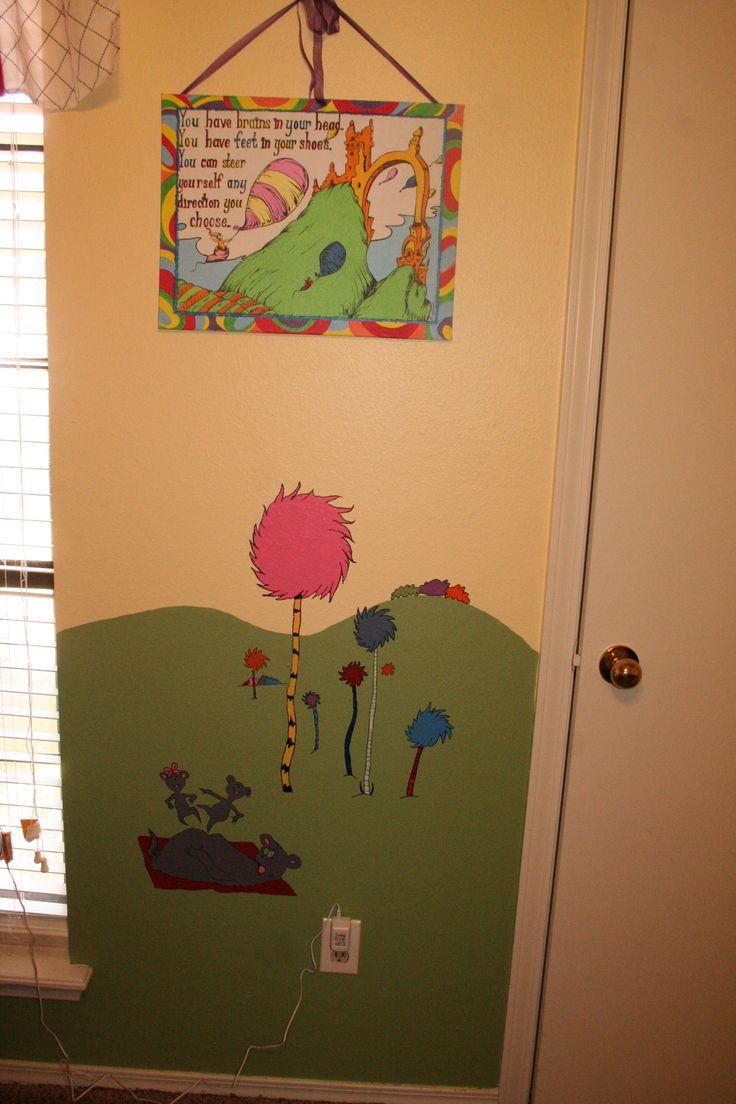 149 best Dr.Seuss Bedroom images on Pinterest | Babies rooms, Kids rooms  and Nursery ideas