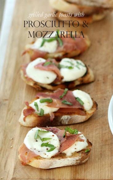 PROSCIUTTO and MOZZARELLA! #food #foodie