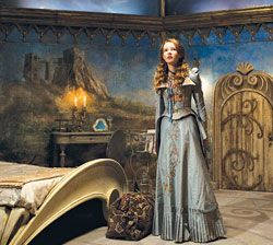 'The Secret of Moonacre' has the most amazing costumes and sets. Dreamy and fantastic fairy tale!