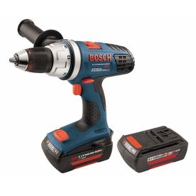 Bosch 36-Volt Lithium Ion (Li-Ion) 1/2-In Cordless Drill Battery And S
