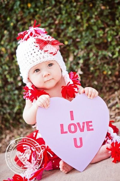 60 best Valentine Photo Ideas images on Pinterest   Baby pictures ...