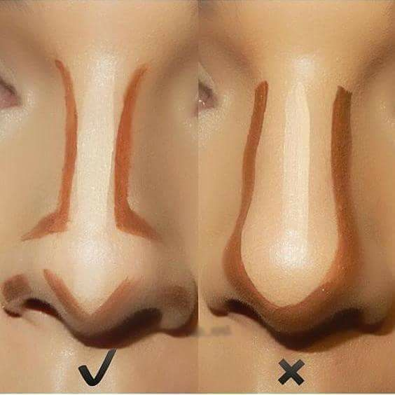 How to contour your nose https://www.beauty-secrets.us/product/101homemade-remedies/