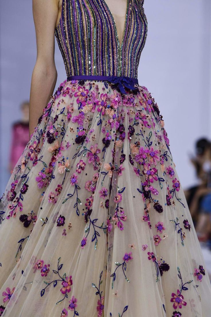 Oh, how I love this gown by Georges Hobeika, Couture Fall/Winter 2015/16 Paris ~~ Houston Foodlovers Book Club