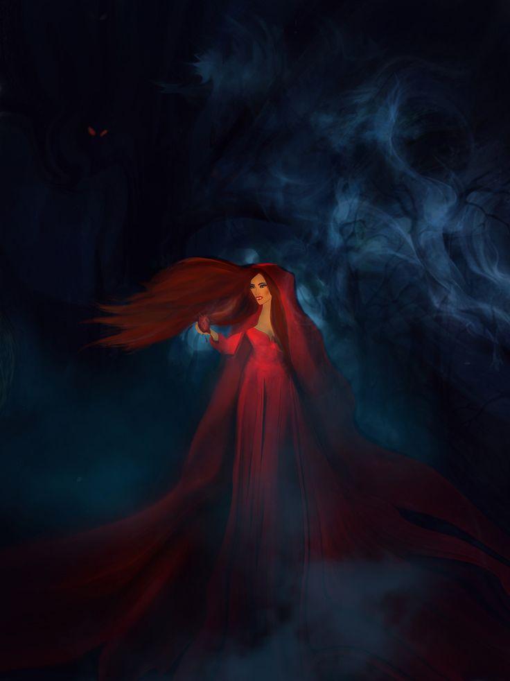 Vampire Girl, Art Lana on ArtStation at https://www.artstation.com/artwork/V3q9n