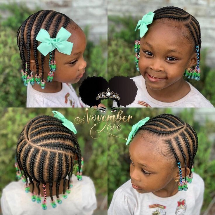 Short Hairstyles African American Medium Lengths Womenhairstyles Hairstyle Women Pinterest Braids For Kids Toddler Hairstyles Girl Kids Hairstyles