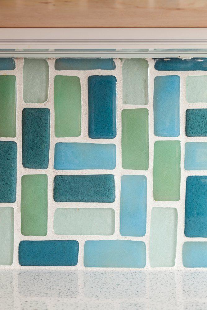 Eclectic Glass Backsplash | Installation Gallery | Fireclay Tile