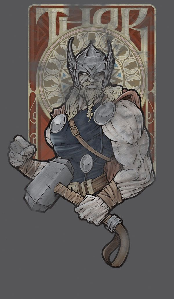 Great Collection of Thor Artworks | Abduzeedo Design Inspiration