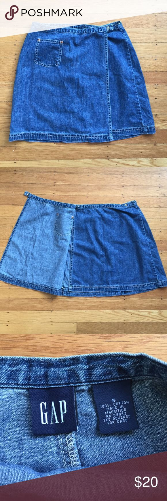 90's GAP skirt High waisted skirt from the 90's! In great condition. Size 4 GAP Skirts Mini