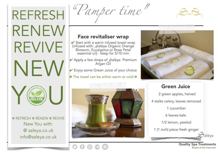 #PamperTime - face wrap Here are some ideas on how to make the most of your Organic Spa products, why not try a home made face wrap - you will only need: ✔ 2 x flannels or 1 x hand towel ✔ 1 x bowl filled with cold or hot water ✔ 1 x essential oils of your choice For best result leave the towels to infuse in the scented water overnight. #Face #wrap #essentialoils #OrangeBlossom #RosePetal #Eucalyptus #organic #aromatherapy #arganoil #pampering #spa