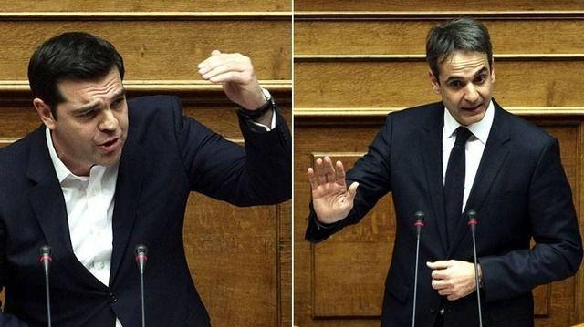 Σύγκρουση Τσίπρα-Μητσοτάκη στη Βουλή για αξιολόγηση και διαπλοκή: Τα «ξίφη» τους διασταύρωσαν στην Βουλή ο Αλέξης Τσίπρας με τον Κυριάκο…