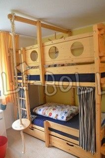 bunk bed fall protection net - Google Search