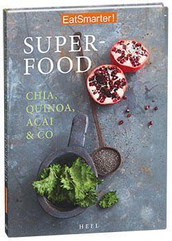 NEU im Handel!  Das Superfood Kochbuch von EAT SMARTER randvoll mit gesunden Rezepten mit Quinoa, Chia, Acai & Co. Hier könnt ihr es bestellen: http://eatsmarter.de/kochbuecher