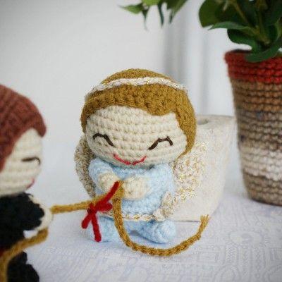 Amigurumi De Angel : 17 mejores imagenes sobre recuerditos en Pinterest ...