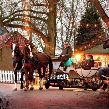 Heerlijkheid Marienwaerdt   Arrenslee tijdens de Kerstfair