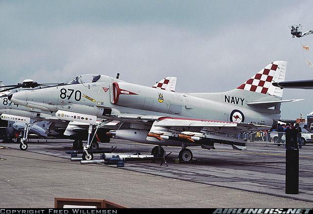 McDonnell Douglas A-4G Skyhawk aircraft picture