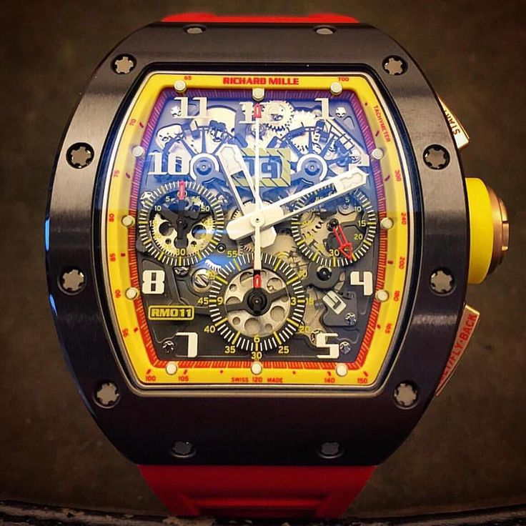 "Richard Mille RM011 ""Lee Chong Wei"" Edition."