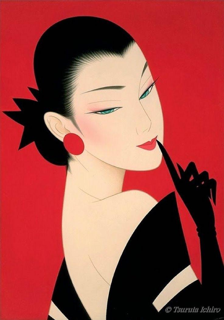 Tsuruta Ichiro Artwork.
