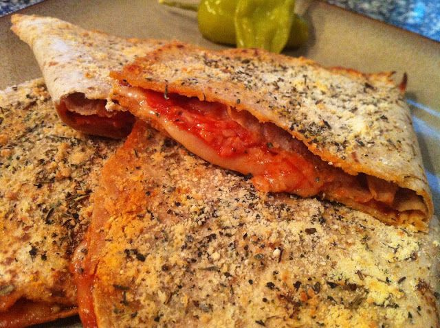 Pepperoni and Canadian Bacon Pizza Pockets - Low Carb | Peace Love and Low Carb