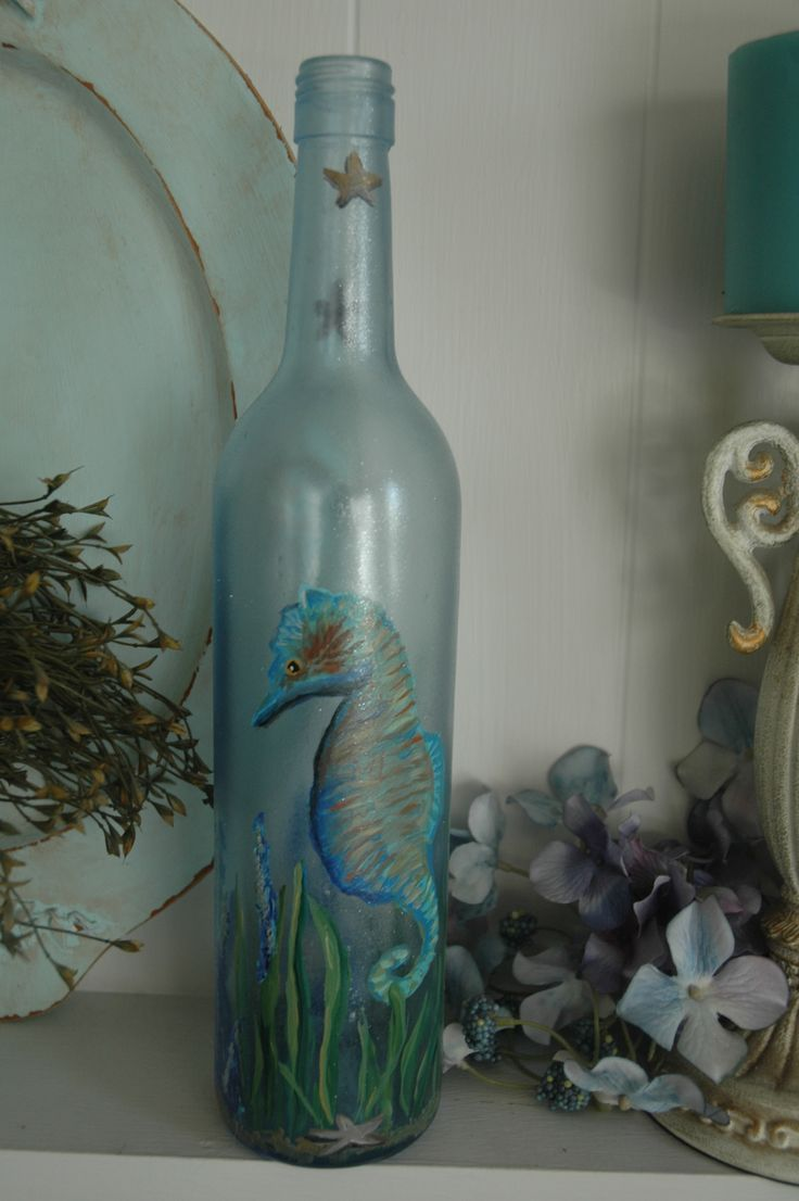 Glass Bottle Decoration 88 Best Glass Bottles  Decorated Images On Pinterest  Glass