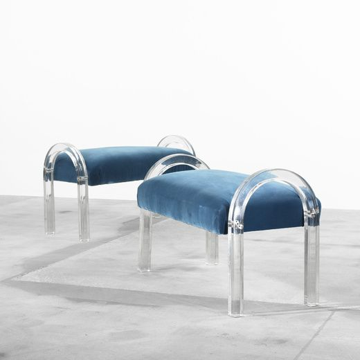 WATERFALL BENCHES by CHARLES HOLLIS JONES 1975