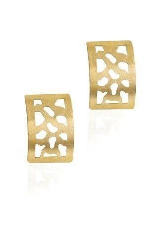 Gold Animal Print Earrings