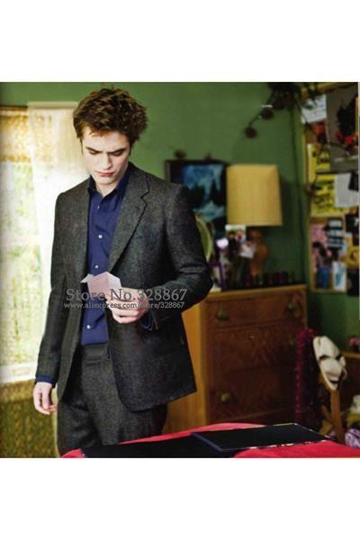 Эдвард каллен в сером пиджаке