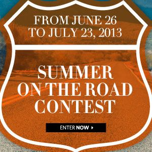 #AdditionElleOntheRoad  From June 26 to July 23, 2013. Summer On the Road Contest. Enter now!
