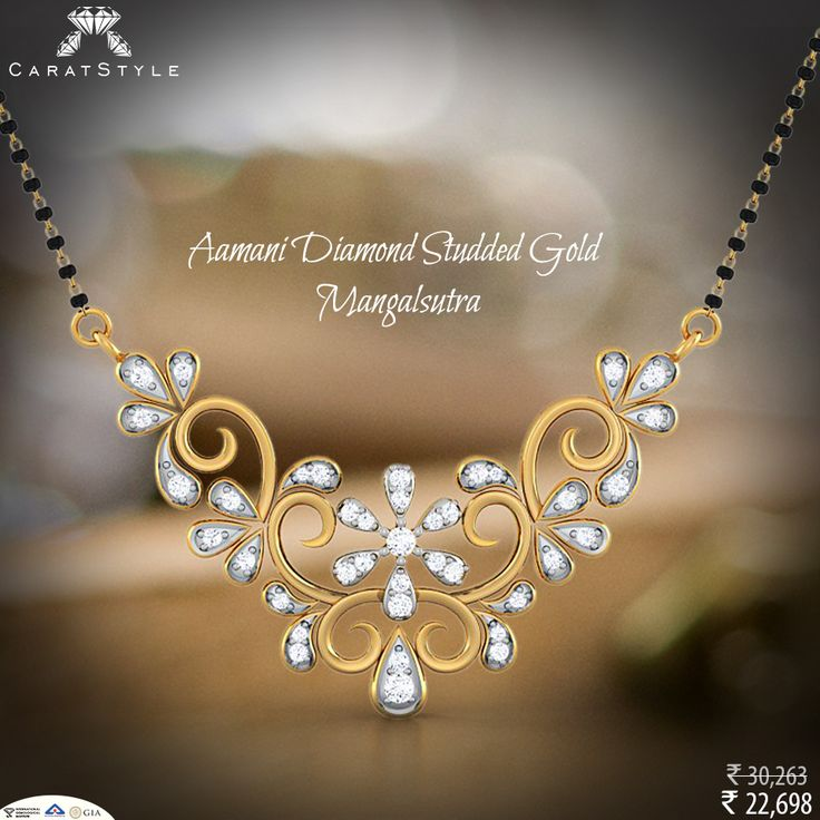 Jewellery; Where Life Beigns and Love Never Ends.  #diamond #mangalsutra…