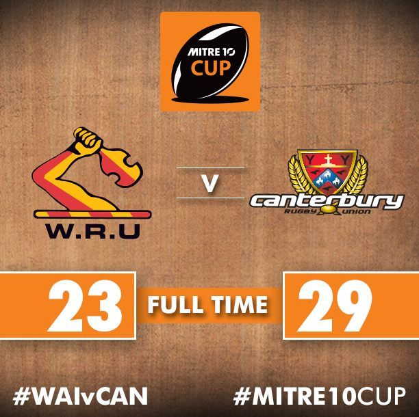 Canterbury Rugby edge Waikato Rugby in a classic #RanfurlyShield encounter to lift the 'log o wood' for the 15th time..