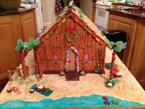 My Tropical Gingerbread House